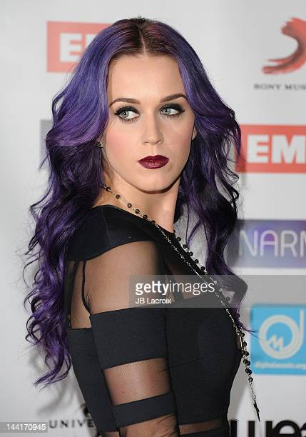 Katy Perry arrives at the NARM Music Biz Awards Dinner Party held at the Hyatt Regency Century Plaza on May 10 2012 in Century City California