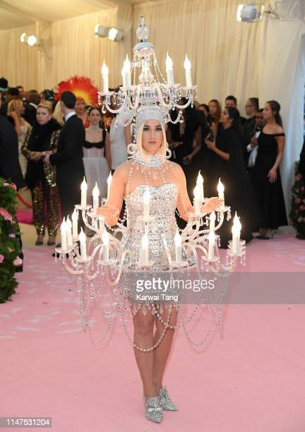 Katy Perry arrives for the 2019 Met Gala celebrating Camp Notes on Fashion at The Metropolitan Museum of Art on May 06 2019 in New York City