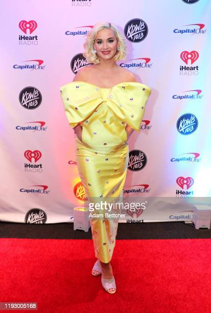 Katy Perry attends 1013 KDWB's Jingle Ball 2019 presented by Capital One at Xcel Energy Center on December 9 2019 in St Paul/Minneapolis Minnesota