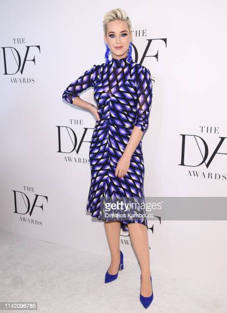 Katy Perry attends 10th Annual DVF Awards at Brooklyn Museum on April 11 2019 in New York City
