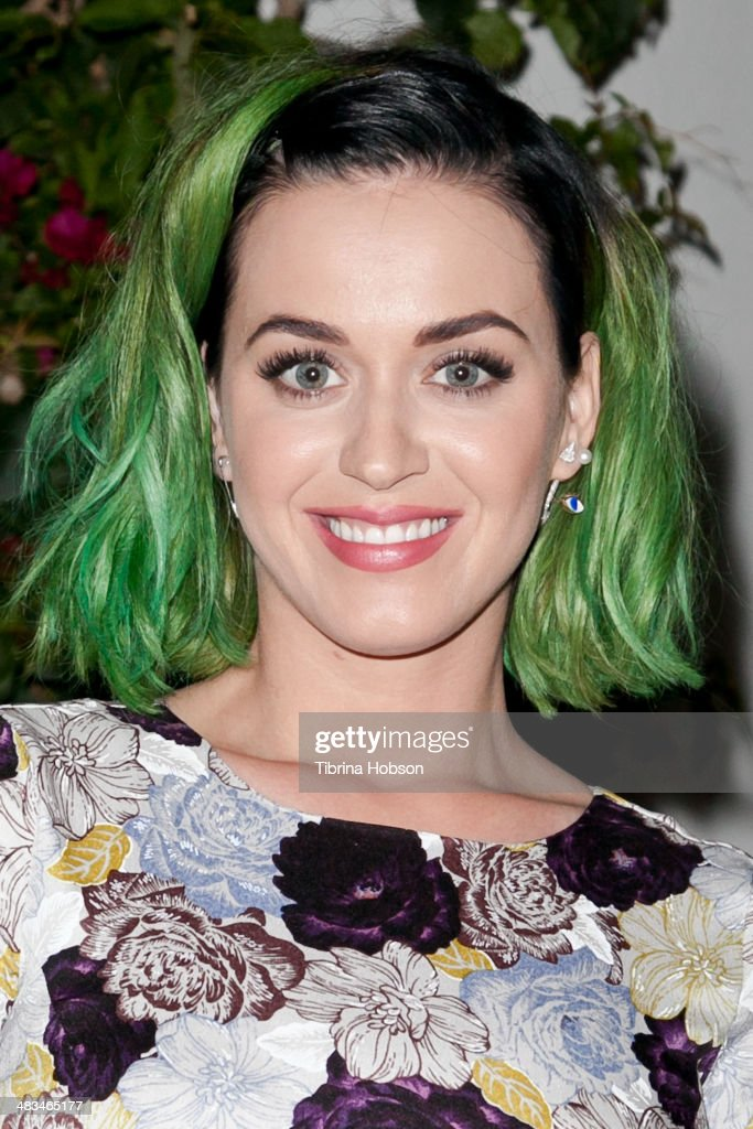 Katy Perry attends as Nicole Richie, Rivka Sophia Rossi, Hayden Slater and friends host Marianne Williamson, Independent Candidate for Congress, CA 33 event at Kayne Griffin Corcoran Gallery on April 8, 2014 in Los Angeles, California.