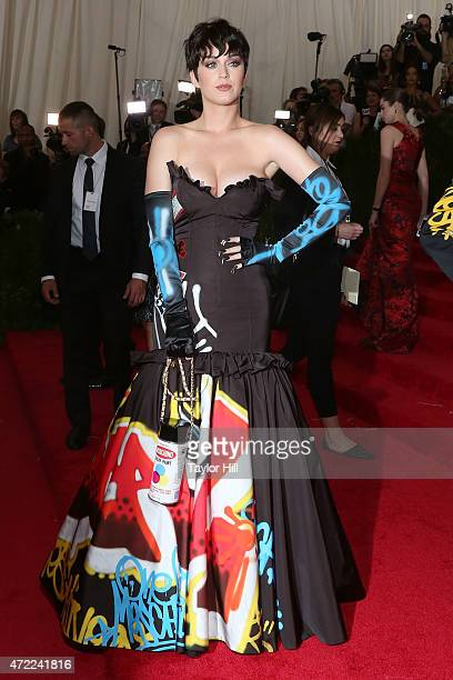 Katy Perry attends China Through the Looking Glass the 2015 Costume Institute Gala at Metropolitan Museum of Art on May 4 2015 in New York City