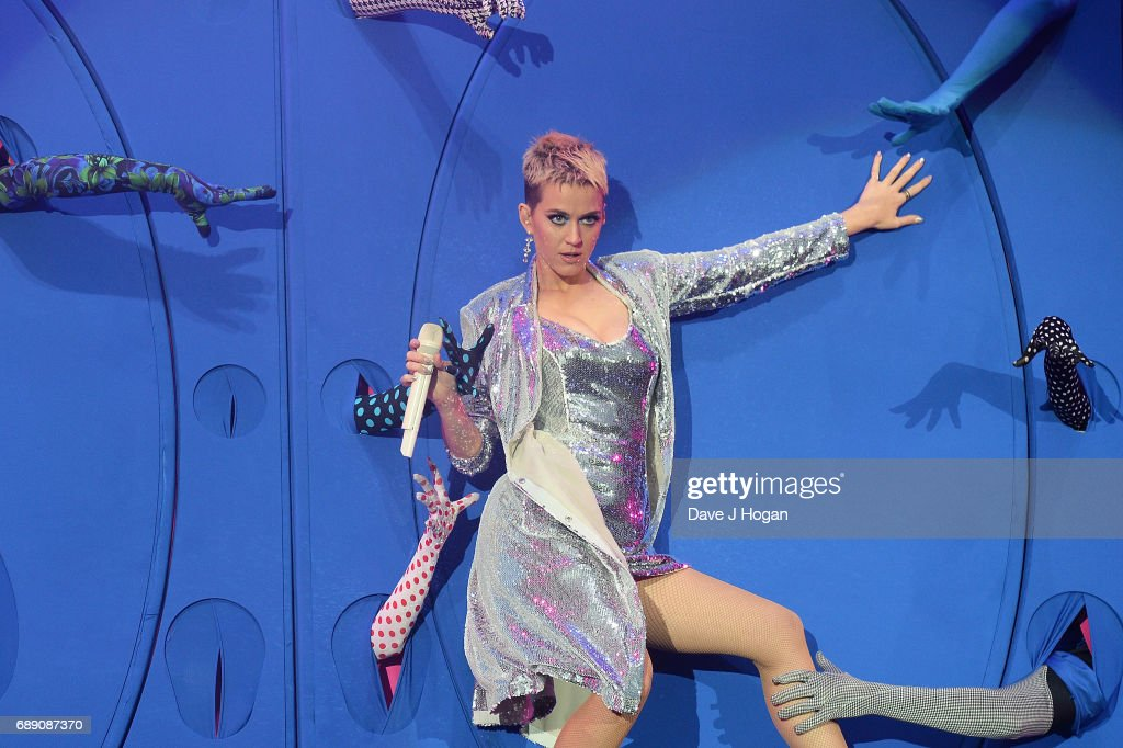 Katy Perry attends Day 1 of BBC Radio 1's Big Weekend 2017 at Burton Constable Hall on May 27, 2017 in Hull, United Kingdom.