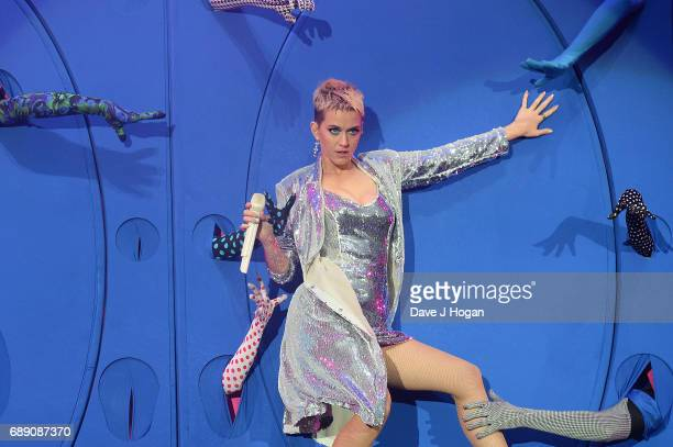 Katy Perry attends Day 1 of BBC Radio 1's Big Weekend 2017 at Burton Constable Hall on May 27 2017 in Hull United Kingdom