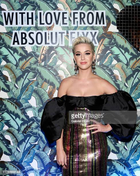 Katy Perry attends Mark Ronson's 'Club Heartbreak' Grammy Party sponsored by Absolut Elyx on February 10 2019 in Los Angeles California