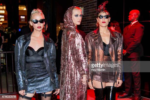 Katy Perry attends Rei Kawakubo/Comme des Garcons Art Of The InBetween Costume Institute Gala After Party at the Standard Hotel on May 1 2017 in New...