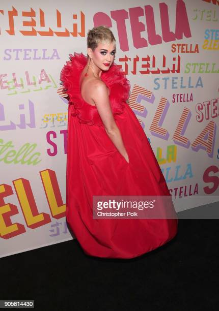 Katy Perry attends Stella McCartney's Autumn 2018 Collection Launch on January 16 2018 in Los Angeles California