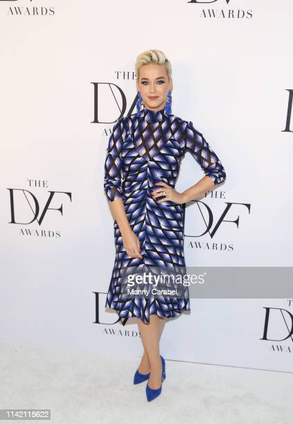 Katy Perry attends the 10th Annual DVF Awards at Brooklyn Museum on April 11 2019 in New York City