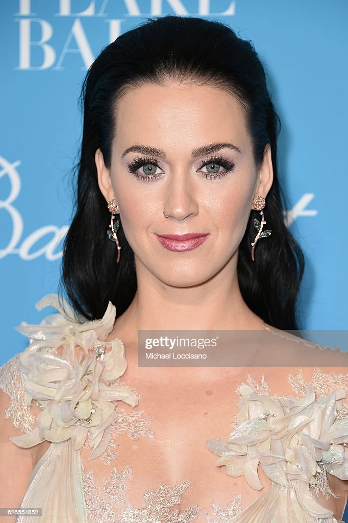 Katy Perry attends the 12th Annual UNICEF Snowflake Ball at Cipriani Wall Street on November 29, 2016 in New York City.