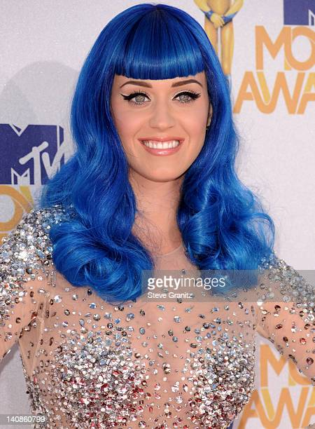 Katy Perry attends the 2010 MTV Movie Awards at Gibson Amphitheatre on June 6, 2010 in Universal City, California.
