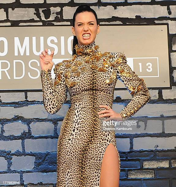 Katy Perry attends the 2013 MTV Video Music Awards at the Barclays Center on August 25 2013 in the Brooklyn borough of New York City