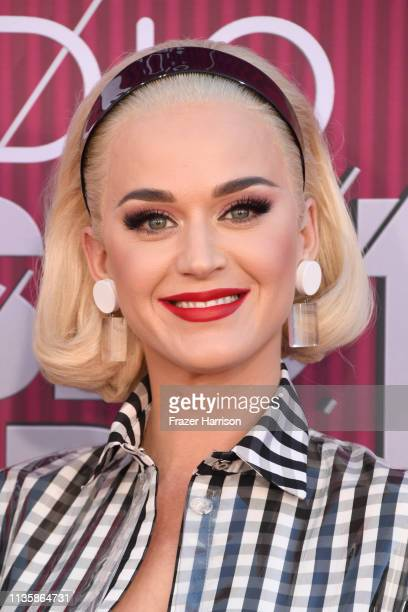 Katy Perry attends the 2019 iHeartRadio Music Awards which broadcasted live on FOX at Microsoft Theater on March 14 2019 in Los Angeles California