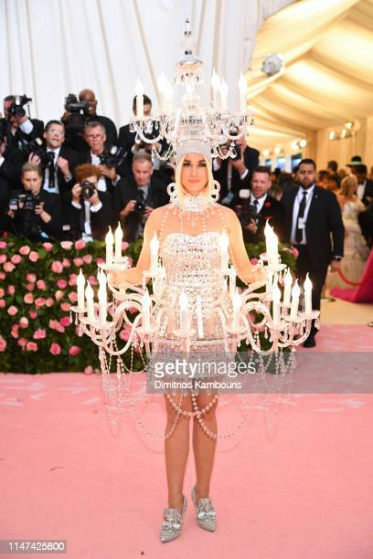 Katy Perry attends The 2019 Met Gala Celebrating Camp Notes on Fashion at Metropolitan Museum of Art on May 06 2019 in New York City