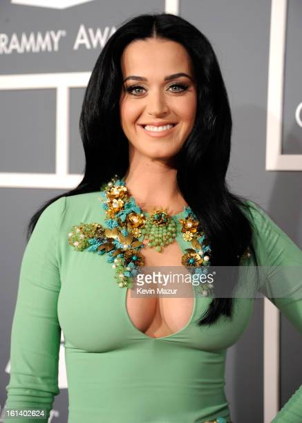 Katy Perry attends the 55th Annual GRAMMY Awards at STAPLES Center on February 10 2013 in Los Angeles California