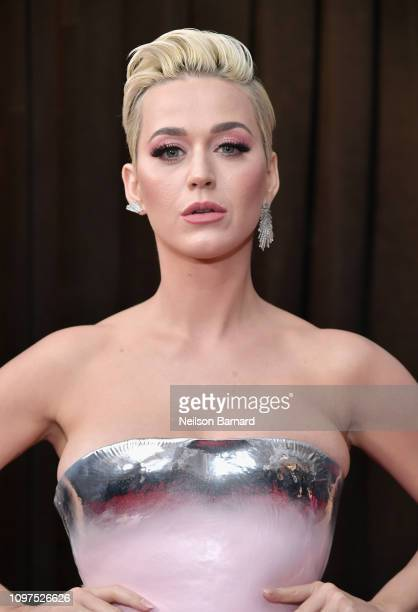 Katy Perry attends the 61st Annual GRAMMY Awards at Staples Center on February 10 2019 in Los Angeles California