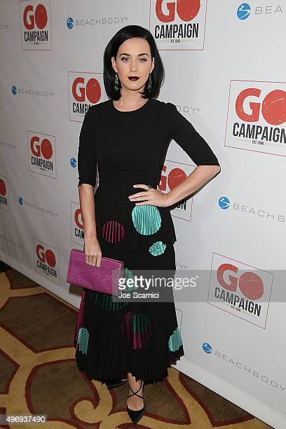 Katy Perry attends the 8th Annual GO Campaign Gala at Montage Beverly Hills on November 12 2015 in Beverly Hills California