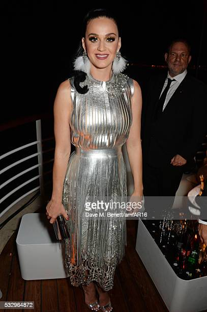 Katy Perry attends the after party for amfAR's 23rd Cinema Against AIDS Gala at Hotel du CapEdenRoc on May 19 2016 in Cap d'Antibes France