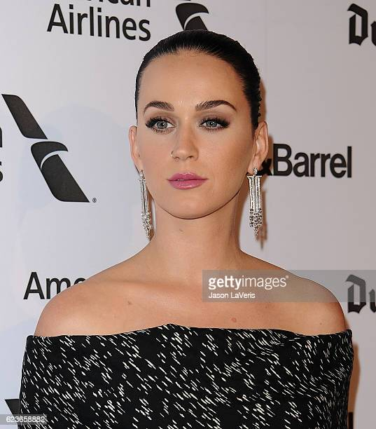 Katy Perry attends the Capitol Records 75th anniversary gala at Capitol Records Tower on November 15 2016 in Los Angeles California