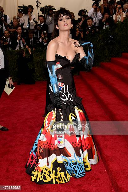 Katy Perry attends the China Through The Looking Glass Costume Institute Benefit Gala at the Metropolitan Museum of Art on May 4 2015 in New York City