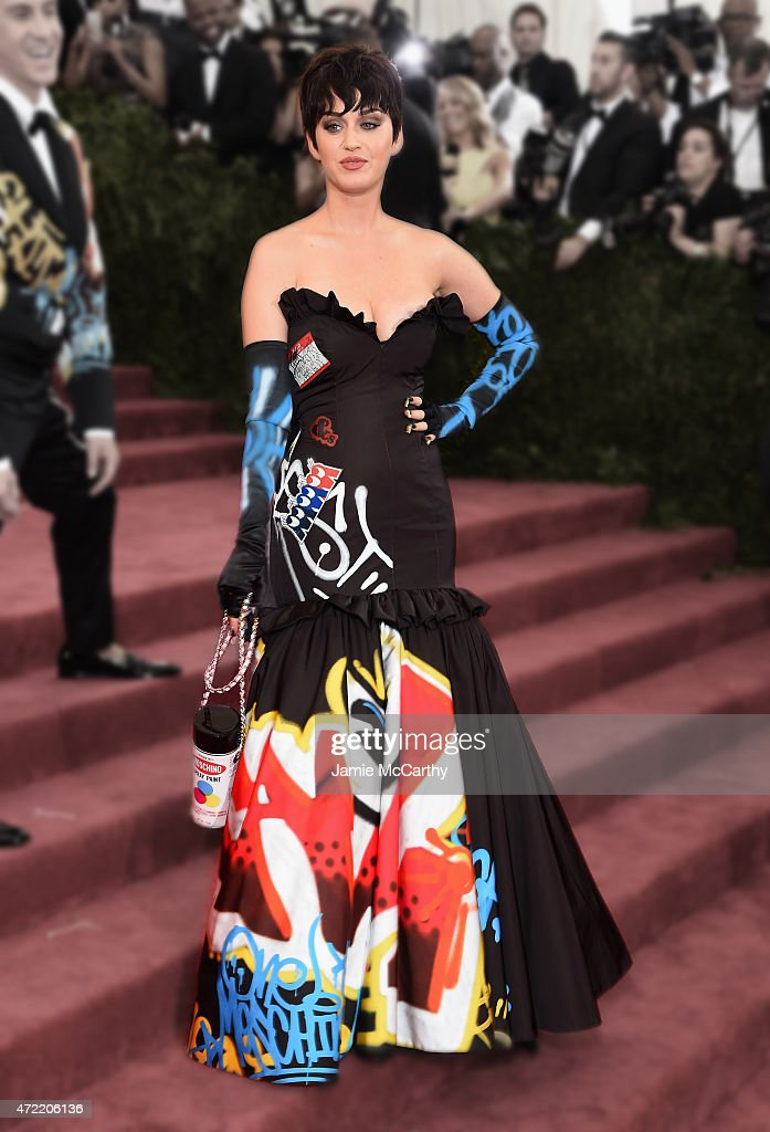 Katy Perry attends the 'China: Through The Looking Glass' Costume Institute Benefit Gala at the Metropolitan Museum of Art on May 4, 2015 in New York City.