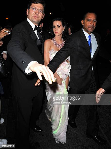 Katy Perry attends the Costume Institute Gala after party at the Mark hotel on May 3 2010 in New York City