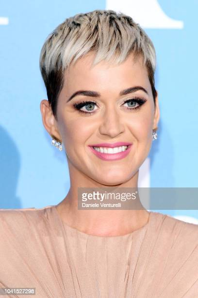 Katy Perry attends the Gala for the Global Ocean hosted by HSH Prince Albert II of Monaco at Opera of MonteCarlo on September 26 2018 in MonteCarlo...