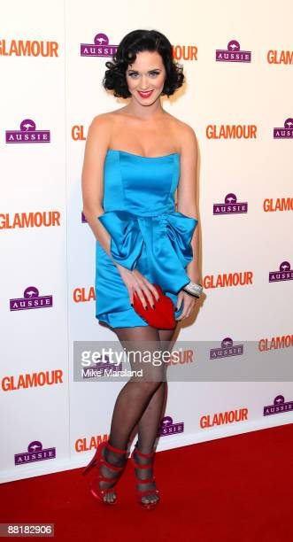 Katy Perry attends the Glamour Women of the Year Awards at Berkeley Square Gardens on June 2 2009 in London England