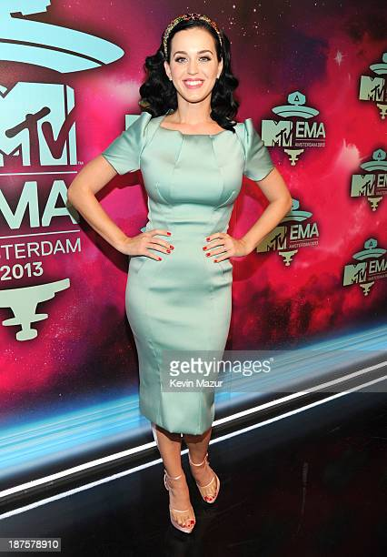 Katy Perry attends the MTV EMA's 2013 at the Ziggo Dome on November 10 2013 in Amsterdam Netherlands