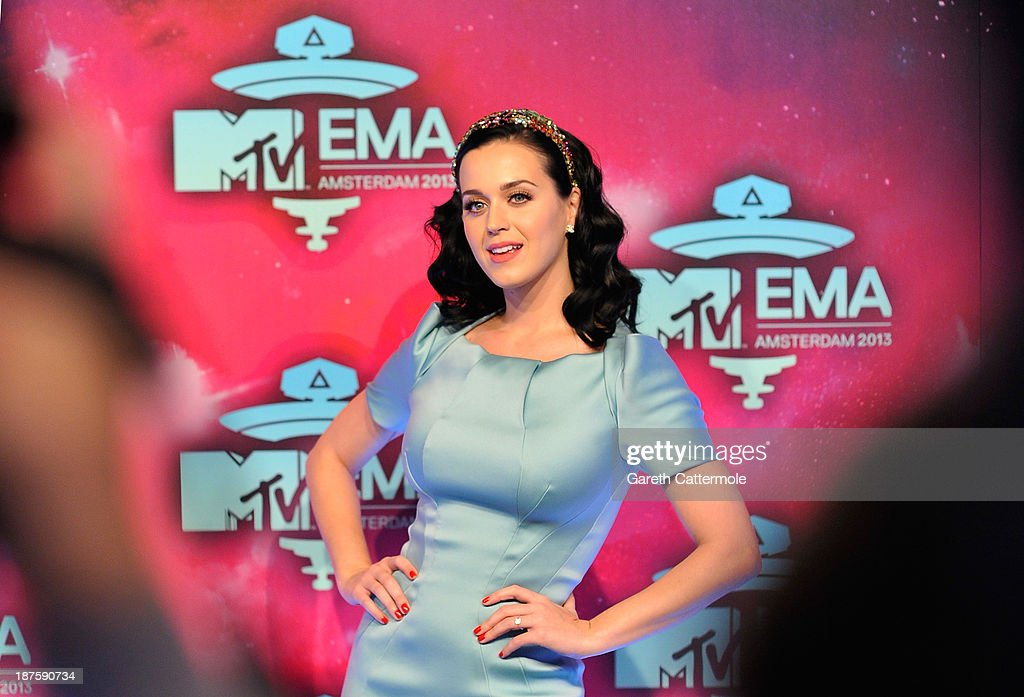 Katy Perry attends the MTV EMA's 2013 at the Ziggo Dome on November 10, 2013 in Amsterdam, Netherlands.