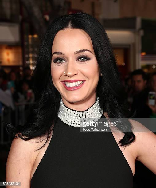 Katy Perry attends the Premiere of Paramount Pictures' 'Office Christmas Party' at Regency Village Theatre on December 7 2016 in Westwood California