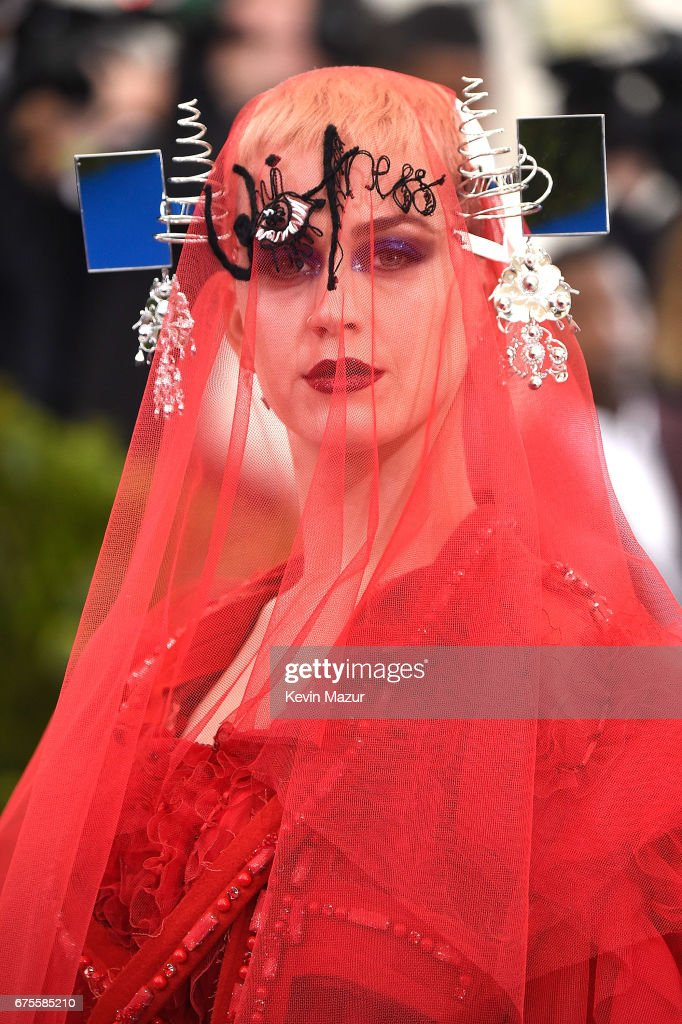 Katy Perry attends the 'Rei Kawakubo/Comme des Garcons: Art Of The In-Between' Costume Institute Gala at Metropolitan Museum of Art on May 1, 2017 in New York City.