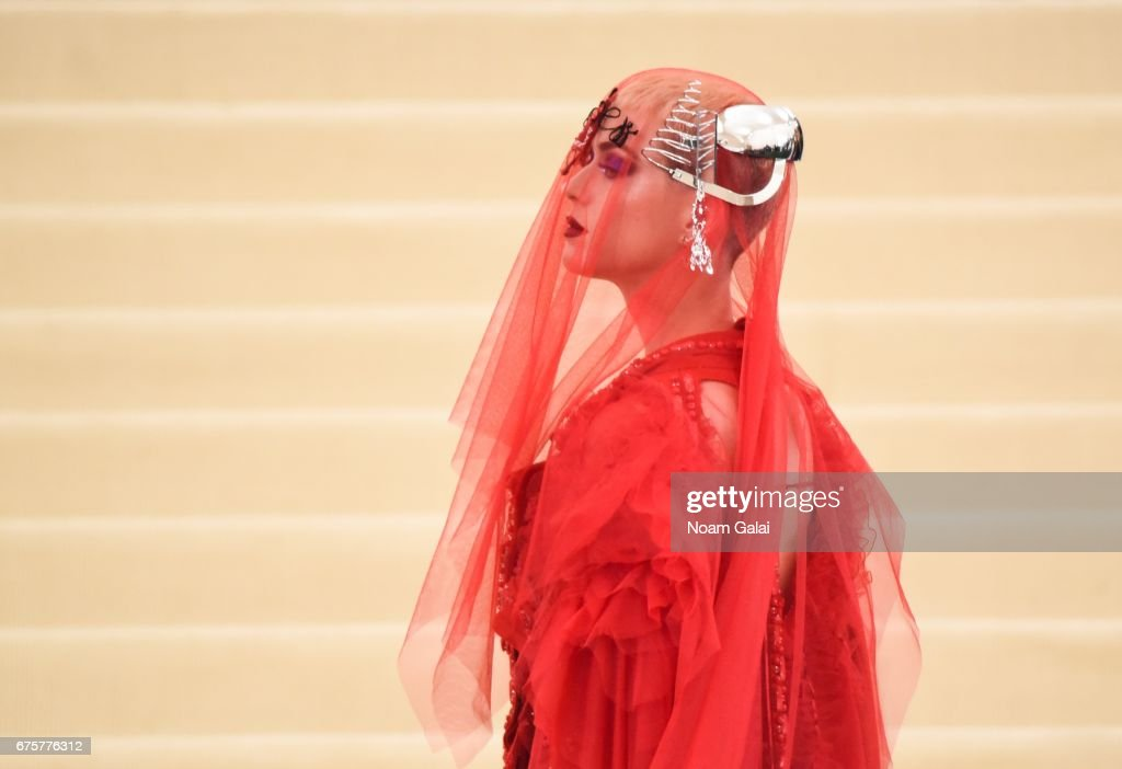"""Rei Kawakubo/Comme des Garcons: Art Of The In-Between"" Costume Institute Gala - Outside Arrivals : News Photo"