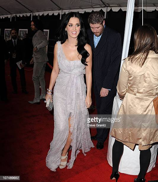Katy Perry attends 'The Tempest' Los Angeles Premiereon December 6 2010 in Hollywood California