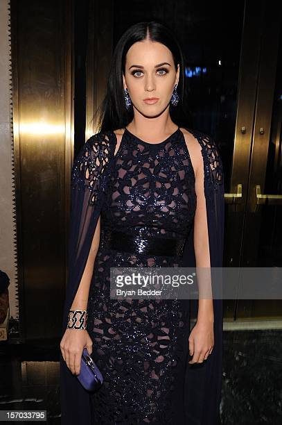Katy Perry attends the Unicef SnowFlake Ball at Cipriani 42nd Street on November 27 2012 in New York City