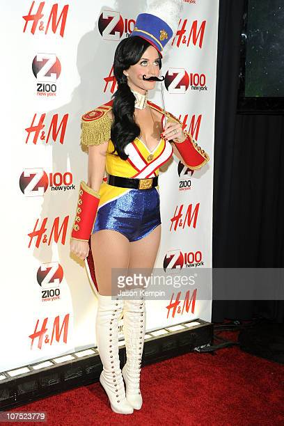 Katy Perry attends Z100's Jingle Ball 2010 at Madison Square Garden on December 10, 2010 in New York City.