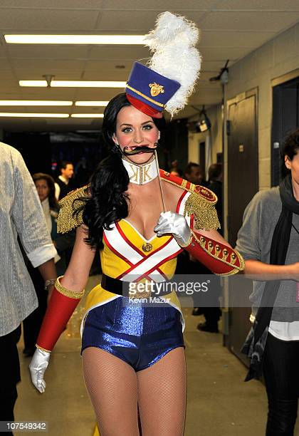 Katy Perry attends Z100's Jingle Ball 2010 presented by HM at Madison Square Garden on December 10 2010 in New York City