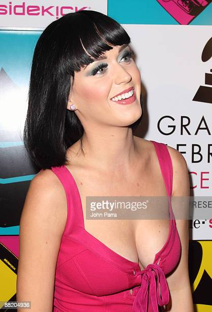Katy Perry backstage at the GRAMMY Celebration Concert Tour at Filmore Miami Beach at Jackie Gleason Theater on May 7 2009 in Miami Beach Florida
