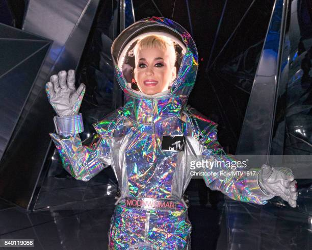 Katy Perry backstage during the 2017 MTV Video Music Awards at The Forum on August 27 2017 in Inglewood California