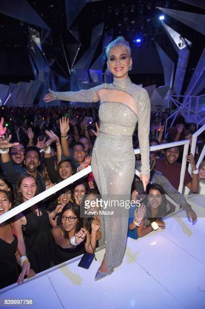 Katy Perry during the 2017 MTV Video Music Awards at The Forum on August 27 2017 in Inglewood California