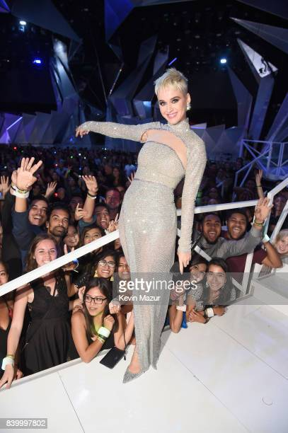 Katy Perry during the 2017 MTV Video Music Awards at The Forum on August 27, 2017 in Inglewood, California.