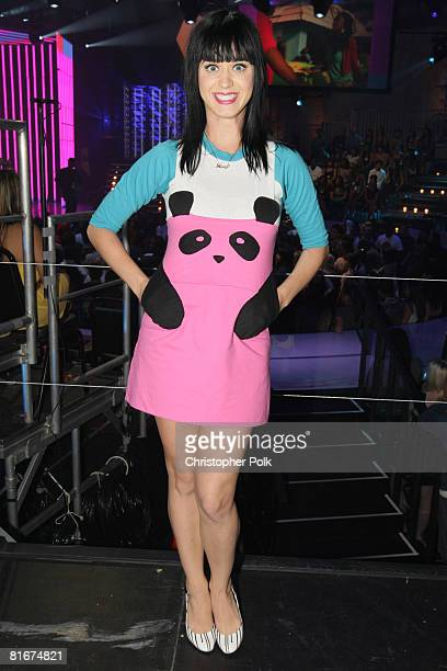 HOLLYWOOD CA JUNE 18 Katy Perry during the taping of MTV's 'FNMTV' on June 18 2008 in Hollywood CA The show airs Fridays at 8pm on MTV