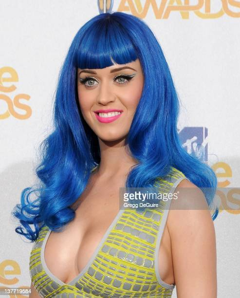 Katy Perry in the press room at the 2010 MTV Movie Awards at the Gibson Amphitheatre on June 6, 2010 in Universal City, California.