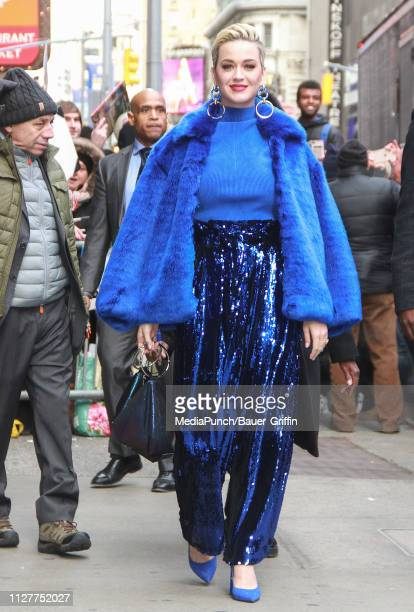 Katy Perry is seen on February 27 2019 in New York City