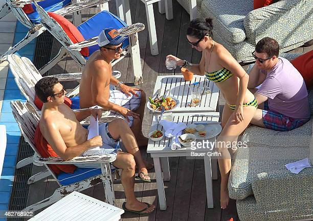 Katy Perry is seen on July 27 2012 in Miami Florida
