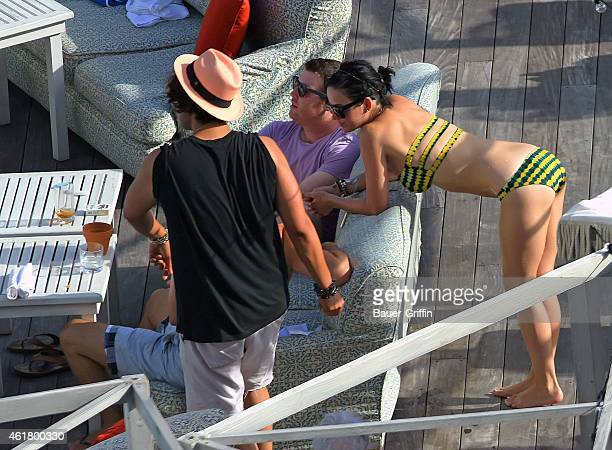 Katy Perry is seen on July 28 2012 in Miami Florida