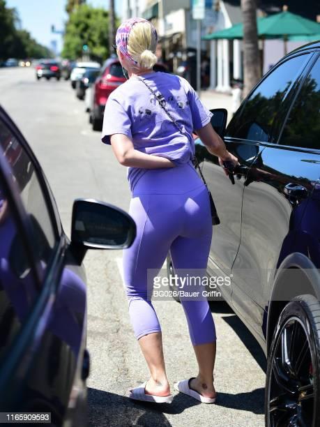 Katy Perry is seen on September 03 2019 in Los Angeles California