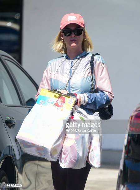 Katy Perry is seen on September 08 2019 in Los Angeles California