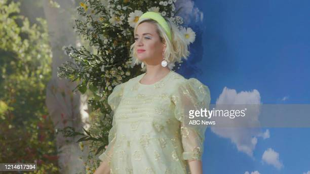 AMERICA 52220 Katy Perry kicks off the GMA Summer Concert Series with a performance of her new single DaisiesFriday May 22 2020 on ABC FRAMEGRAB KATY
