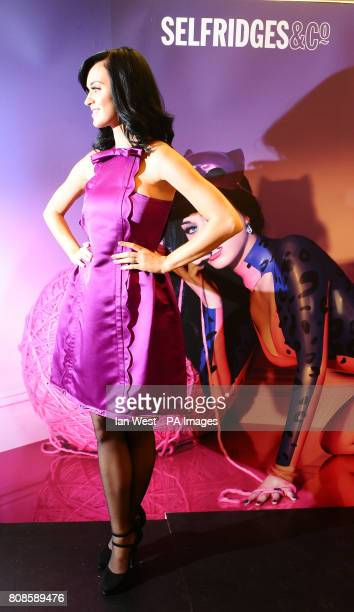 Katy Perry launches her new perfume Purr at Selfridges in London