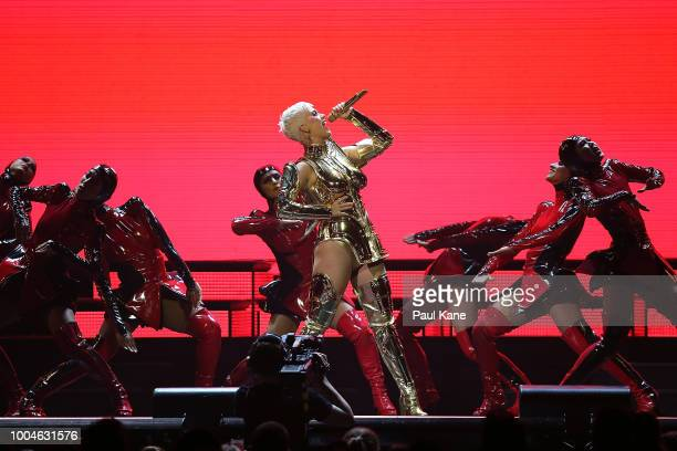Katy Perry performs at Perth Arena on July 24 2018 in Perth Australia